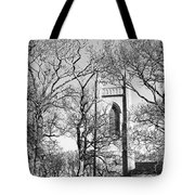 Where Yeats Lies In Bw Tote Bag