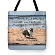 Wherever You May Roam Tote Bag