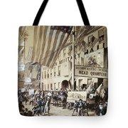 Whig Party Parade, 1840 Tote Bag