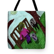 While Riding My Pony I Noticed A Butterfly Tote Bag