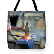 While The Iron Is Hot Tote Bag