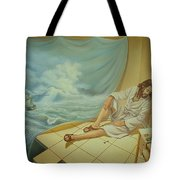While The Master Is Sleeping Tote Bag