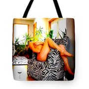 While You Are Away   Number Two Tote Bag