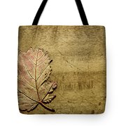 ...while You Fall Apart Tote Bag