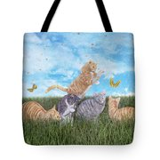 Whimsical Cats Tote Bag