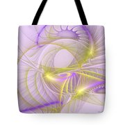 Whimsical In Purple Tote Bag