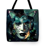 Whimsical Masquerade Tote Bag