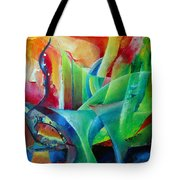 Whimsical Mood-landscape And Fields Tote Bag