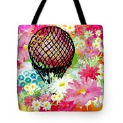 Whimsical Musing High In The Air Tote Bag