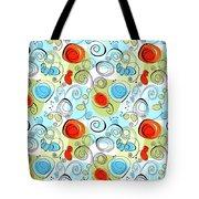 Whimsical Seamless Pattern Tote Bag