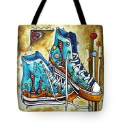 Whimsical Shoes By Madart Tote Bag
