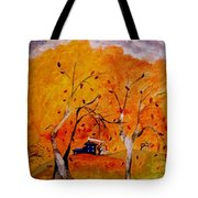 Whimsical Wind Tote Bag