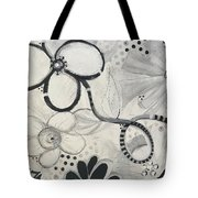 Whimsy Flower Tote Bag