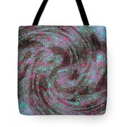 Whirl Wind Of Butterflies And Birds Tote Bag