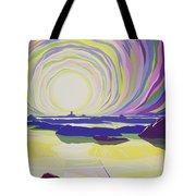 Whirling Sunrise - La Rocque Tote Bag by Derek Crow