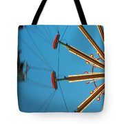 Whirling Twilight Tote Bag