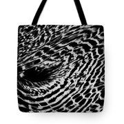Whirlpool Abstract - Bw Tote Bag