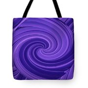 Whirlpool Blues Tote Bag