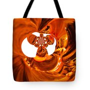 Whirls Abstract Tote Bag