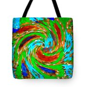 Whirlwind - Abstract Art Tote Bag
