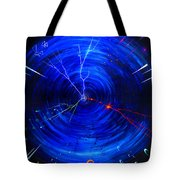Whirlwind Of History. When Time Machine Is In Action Tote Bag