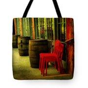 Whiskey Row Tote Bag