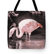 Whisper Pink Flamingo Tote Bag