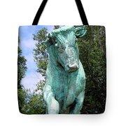 Whisper The Bull Tote Bag
