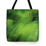 Whispering Hostas Tote Bag