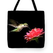 Whispering Hummingbird Tote Bag