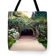 Whispering Tunnel Tote Bag