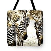 Whispering Zebras Tote Bag