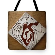 Whispers - Tile Tote Bag