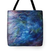 Whispers In A Sea Of Blue Tote Bag