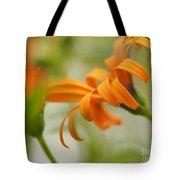 Whispers Of Orange Symphony Tote Bag