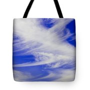 Whispy Clouds Tote Bag