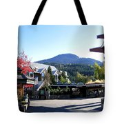 Whistler Mountain Tote Bag