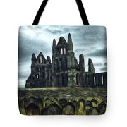 Whitby Abbey, England Tote Bag