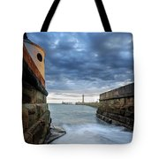 Whitby Morning Tide 2 Tote Bag