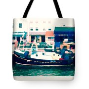 Whitby Quayside Tote Bag