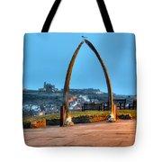 Whitby Whalebone Blue Hour Tote Bag