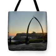 Whitby Whalebone Golden Hour Tote Bag