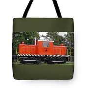 Whitcomb Side Rod Switcher Tote Bag