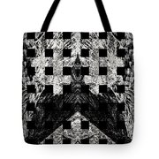 White And Black In My Hands Tote Bag