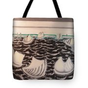 White And Grey Sailing Boats Tote Bag