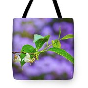 White And Purple Spring 2 Tote Bag