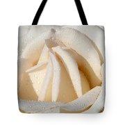 White Angel Rose Tote Bag