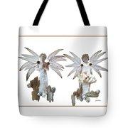White Angels Tote Bag