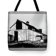 White Barn Tote Bag