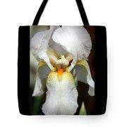 White Bearded Iris 2 Tote Bag